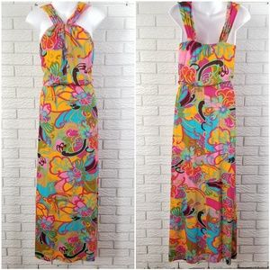 Trina Turk Maxi Dress 2 Cactus Flower